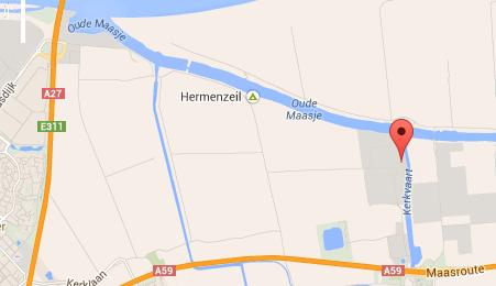 """Toplocatie aan water- en snelweg  """"Centraal"""" in Benelux"""