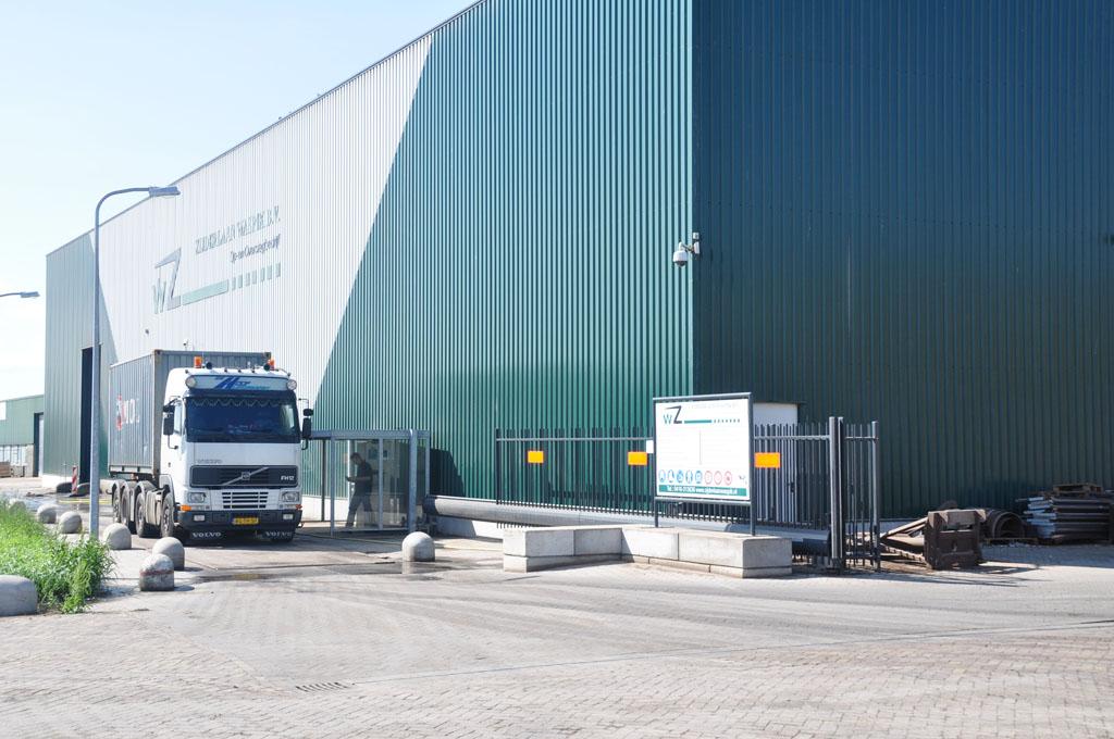 ... tot 70 ton -Zijderlaan Waspik B.V. Op- en overslag van bulkgoederen